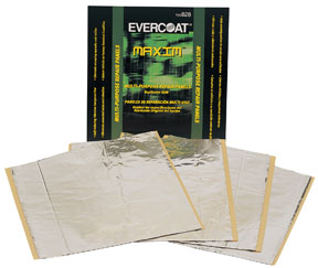 "Fibre-Glass Evercoat Multi-Purpose Repair Panels, 12"" X 12"", 4-Pack"