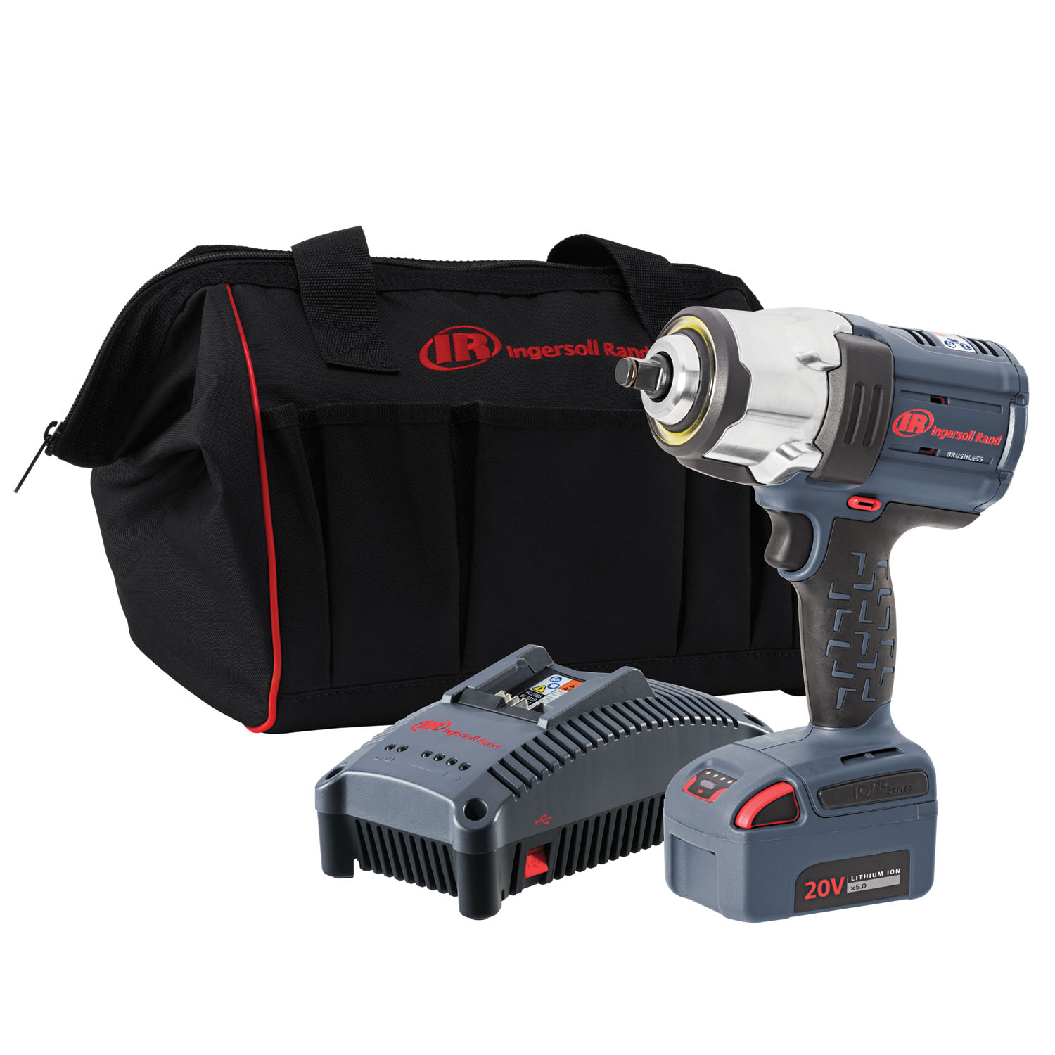 "Ingersoll Rand ½"" IQV20 Impact Wrench, 1 Battery Kit"
