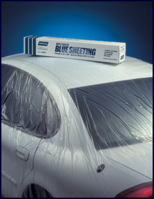 Norton 16' X 350' Blue Sheeting