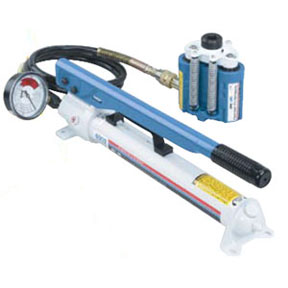 OTC Tools & Equipment Power Twin Ram and Pump Set