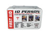 SAS Safety 10 PERSON FIRST AID-METAL BOX