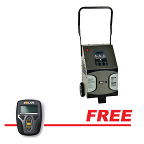 6//12//24 Volt 60//40//15//5//250 Amp Intelligent Wheeled Charger with Engine Start